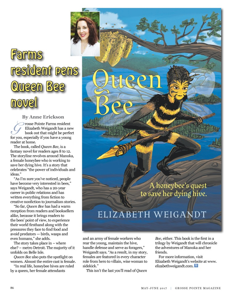Grosse Pointe Magazine 2017 May-Jun Queen Bee